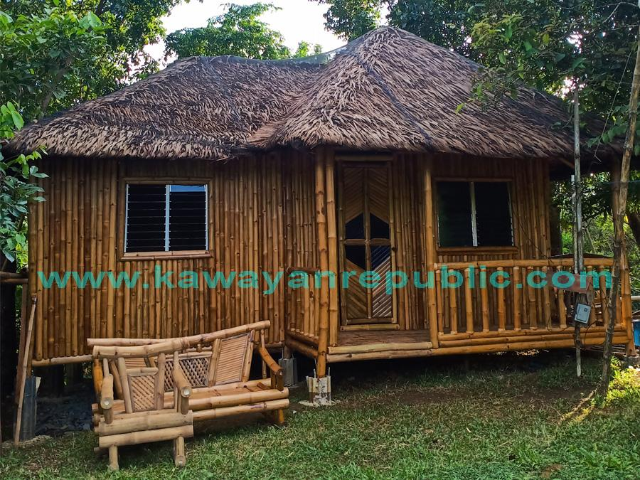 Bamboo House - Ma-ao Front View